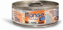 Monge - Консервы для кошек (тунец с лососем) Cat Natural - фото 6027