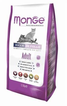 Monge - Сухой корм для взрослых кошек (курица) Cat Adult - фото 6053