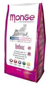 Monge - Сухой корм для домашних кошек (курица) Cat Indoor - фото 6057