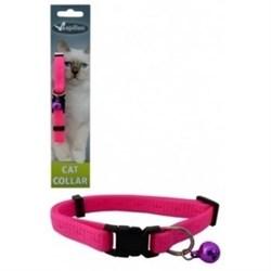 """Papillon - Ошейник для кошек """"Сэсси"""" 10 мм, 21 - 33 см, розовый - фото 6108"""