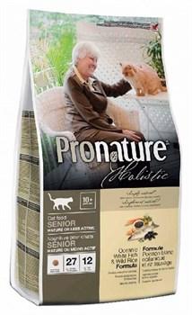 Pronature Holistic - Сухой корм для кошек (океаническая белая рыба с рисом) - фото 6122
