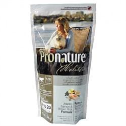 Pronature Holistic - Сухой корм для кошек,  для кожи и шерсти (лосось с рисом) - фото 6123