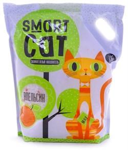 Smart Cat - Наполнитель силикагелевый для кошек (с ароматом апельсина) - фото 6162