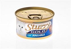 Stuzzy - Консервы для кошек (мусс из камбалы) GOLD - фото 6167
