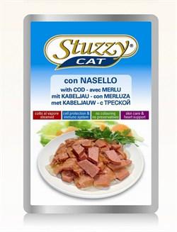 Stuzzy - Паучи для кошек (с треской) - фото 6186