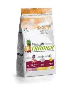 Trainer - Сухой корм для взрослых собак мелких пород (с ягненком и рисом) Fitness No Gluten Mini Adult Lamb and Rice - фото 6292
