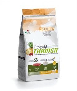Trainer - Сухой корм для взрослых собак средних и крупных пород (с уткой и рисом) Fitness No Gluten Medium/Maxi Adult Duck and Rice - фото 6295