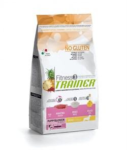 Trainer - Сухой корм для щенков и юниоров мелких пород (с уткой и рисом) Fitness No Gluten Mini Puppy&Junior Duck and Rice - фото 6307