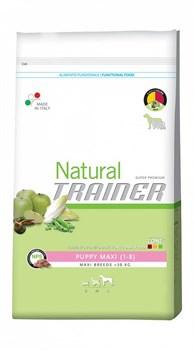 Trainer - Сухой корм для щенков крупных пород Natural Maxi Puppy - фото 6310