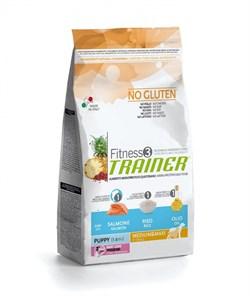 Trainer - Сухой корм для щенков средних и крупных пород (с лососем и рисом) Fitness No Gluten Medium/Maxi Puppy Salmon and Rice - фото 6311