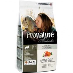 Pronature Holistic - Сухой корм для собак (индейка с клюквой) - фото 6325