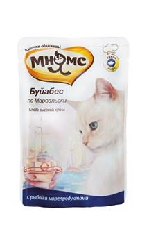 """Мнямс - Паучи для кошек """"Буйабес по-марсельски"""" (рыба с морепродуктами) - фото 6410"""