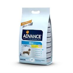 Advance - Сухой корм для собак малых пород Контроль веса (с курицей и рисом) Mini Light - фото 6497
