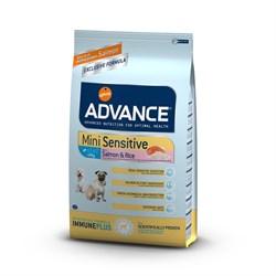 Advance - Сухой корм для собак малых пород с чувствительным пищеварением Mini Sensitive - фото 6498