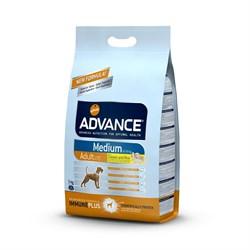 Advance - Сухой корм для собак (с курицей и рисом) Medium Adult - фото 6500