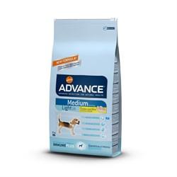 Advance - Сухой корм для собак Контроль веса (с курицей и рисом) Medium Light - фото 6501