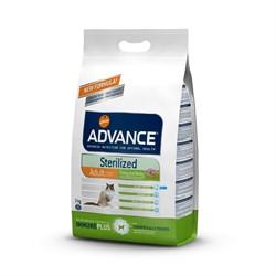Advance - Сухой корм для стерилизованных кошек (с индейкой) Sterilized Turkey - фото 6504