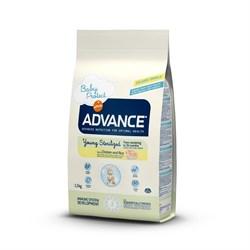 Advance - Сухой корм для стерилизованных кошек до 3 лет Young Sterilized - фото 6505