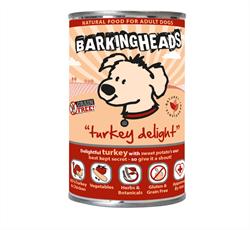 """Barking Heads - Консервы для собак """"Бесподобная индейка"""" (с индейкой) Turkey Delight - фото 7662"""