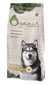 Organix - Сухой корм для взрослых собак (с курицей и цельным рисом) Adult Dog Chicken - фото 8266