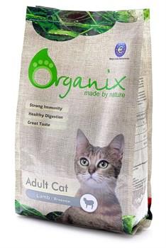 Organix - Гипоаллергенный сухой корм для кошек (с ягнёнком) Adult Cat Lamb - фото 8271