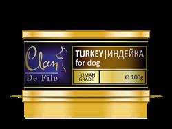 Clan De File - Консервы для собак (индейка) № 52 - фото 8296
