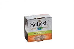 Schesir - Консервы для кошек (тунец с морковью в бульоне) - фото 8455