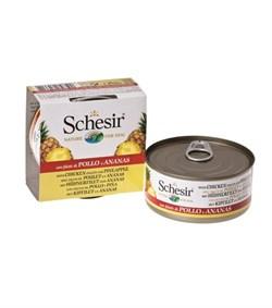Schesir - Консервы для собак (цыплёнок с ананасом) - фото 8496