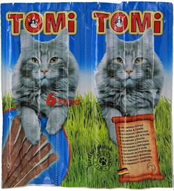 Tomi - Палочки для кошек 6 шт (с лососем и форелью) - фото 8508