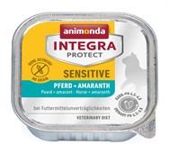 Animonda Integra - Консервы Sensitive для кошек при пищ. аллергии (c кониной и амарантом)