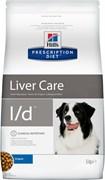 Hill's (вет. диета) - Сухой корм для собак лечение заболеваний печени L/D