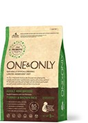 One&Only – Сухой корм для собак мелких пород (индейка с бурым рисом) Tyrkey&Rice Mini Breeds