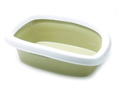 Stefanplast - Туалет Sprint-10 с рамкой, зеленый, 31*43*14