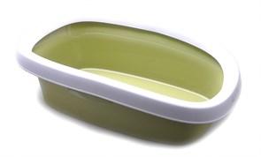 Stefanplast - Туалет Sprint-20 с рамкой, зеленый, 39*58*17