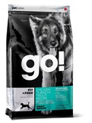 GO! Natural Holistic - Сухой корм беззерновой для собак всех возрастов (4 вида мяса: индейка, курица, лосось, утка) Fit + Free Grain Free All Life Stages Chicken, Turkey & Trout Recipe