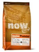"""NOW Natural Holistic - Сухой корм беззерновой """"Контроль веса"""" для собак (с индейкой, уткой и овощами) Fresh Senior Recipe Grain Free"""