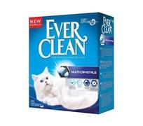 Ever Clean - Наполнитель комкующийся с силикагелем для кошек (сиреневая полоса) Multi Crystals Blend