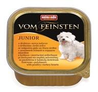 Animonda - Консервы для щенков и юниоров (с мясом домашней птицы и сердцем индейки) Vom Feinsten Junior