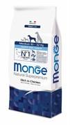 Monge - Сухой корм для щенков средних пород (курица с рисом) Medium Puppy & Junior