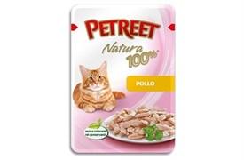 Petreet - Паучи для кошек (курица) Natura 100%