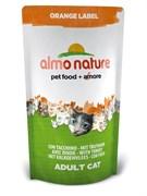 Almo Nature - Сухой корм для кастрированных кошек (с индейкой) Orange label Cat Turkey
