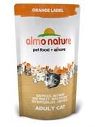 Almo Nature - Сухой корм для кастрированных кошек (с курицей) Orange label Cat Chicken