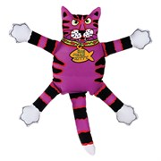 "Kitty City - Игрушка ""Кот-забияка"" FATCAT Terrible Nasty Scaries, фиолетовый"