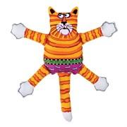 "Kitty City - Игрушка ""Кот-забияка"" мини FATCAT Mini Terrible Nasty Scaries, оранжевый"