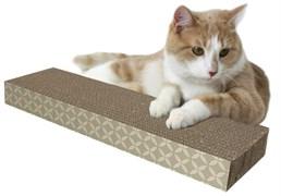 Kitty City - Когтеточка доска малая, 4*13*46 см Small corrugate scratcher, 4*13*46 см