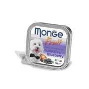 Monge - Консервы для собак (индейка с черникой) Dog Fruit