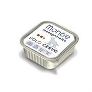 Monge - Консервы для собак (паштет из оленины) Dog Monoproteico Solo