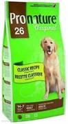 Pronature Original - Пронатюр 26 сухой корм для собак крупных пород (цыпленок)