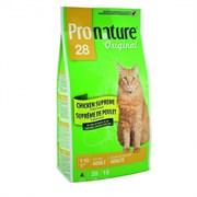 Pronature Original - Пронатюр 28 сухой корм для кошек (цыпленок)