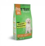 Pronature Original - Пронатюр 28 сухой корм для щенков крупных пород (цыпленок)